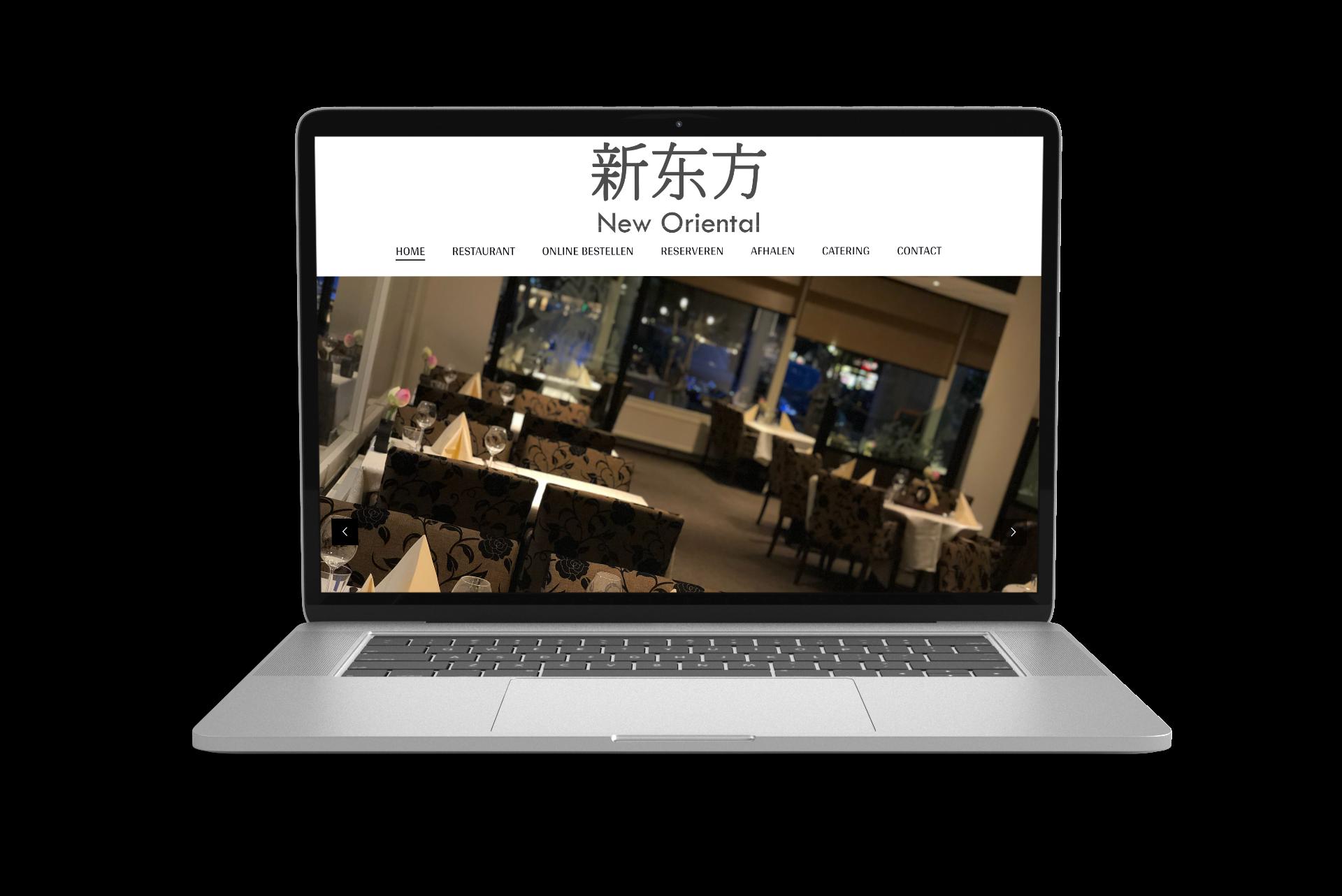 Website New Oriëntal Nuenen