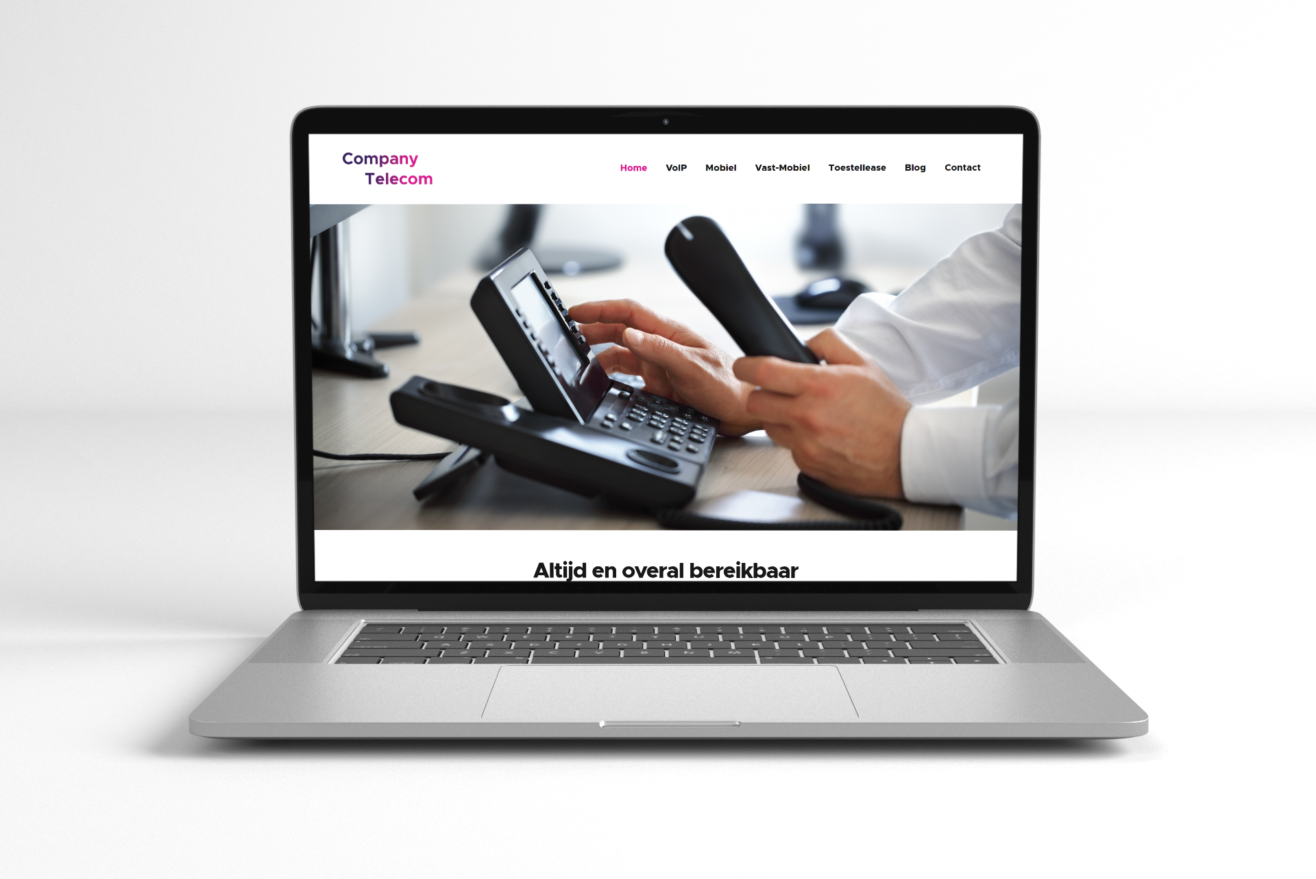 Website Company Telecom
